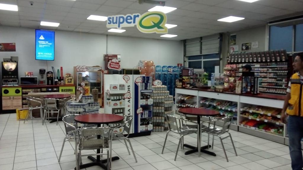 Pantallas Digitales en Tiendas SUPER Q